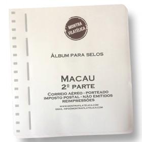 Álbum das Colónias MACAU 2ª...
