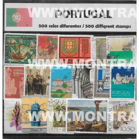 Portugal Pack 500 selos...