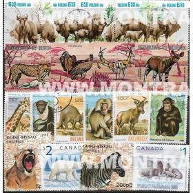 Animais Pack 100 selos...