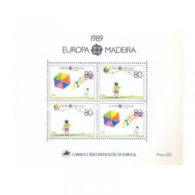 1989 - Europa Madeira - NOVO