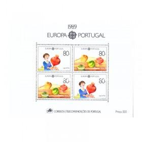 1989 - Europa Portugal - NOVO