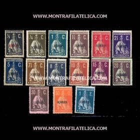 1912/13 - Tipo Ceres Selos...